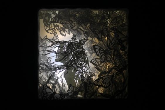 "Flight of Memory - 10x10"""