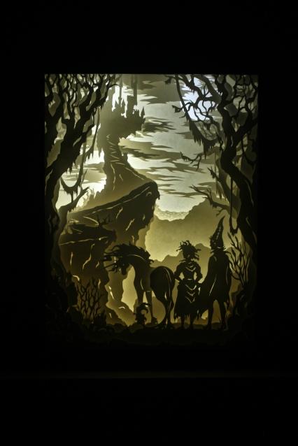 """King Haggard's Castle - 11x14"""""""