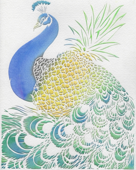 Pineapple Peacock